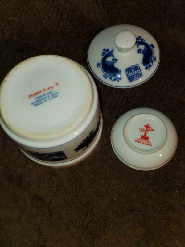 Vintage HengDa Huang Porcelain