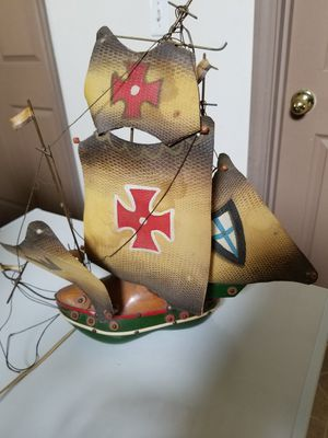 Antique Shoe Ship Lamp for Sale in Cle Elum, WA