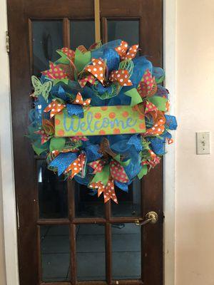 Welcome wreath for Sale in Harvey, LA