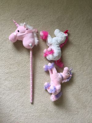 Unicorn Plushies & Unicorn Stick for Sale in Tigard, OR