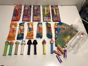 Collection of 18 Assorted PEZ Dispensers for Sale in Fresno, CA