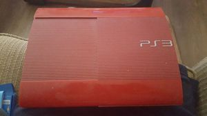 PS3 red limited edition for Sale in Paradise Valley, AZ