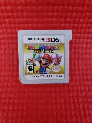 Mario party star rush Nintendo 3ds for Sale in Norwalk, CA