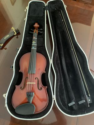 Scherl & Roth Violin, Hard Case, Bow, and Chin rest for Sale in South Glastonbury, CT