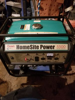 Onan homesite generator 5500 for Sale in Pittsburgh, PA