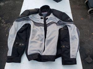 Mens motorcycle jacket for Sale in St. Petersburg, FL