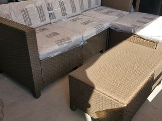 Wicker Sectional for Sale in Fontana,  CA