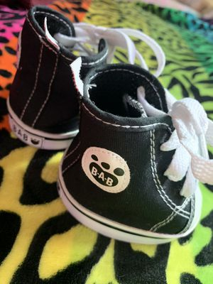 Build a bear chucks converse like shoes for plushies for Sale in Cerritos, CA