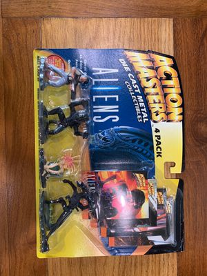 Action masters aliens 4 pack set 1994 for Sale in Buena Park, CA