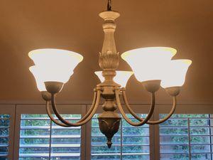 Chandelier Brass Light Fixture for Sale in Los Angeles, CA