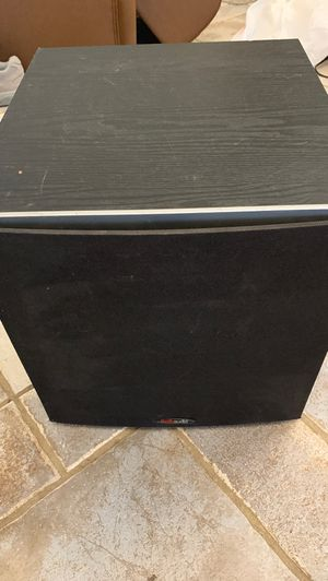 Polk Audio PSW10 10-Inch Powered Subwoofer Home Theater Bass Speaker for Sale in Phoenix, AZ