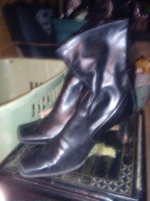 Nine west blk short boots for Sale in Las Vegas, NV