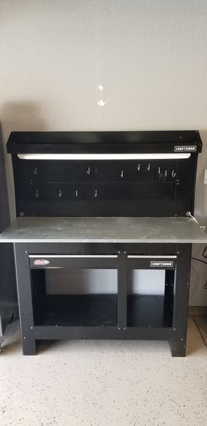 Craftsman workbench with LED Lights for Sale in Clayton, CA