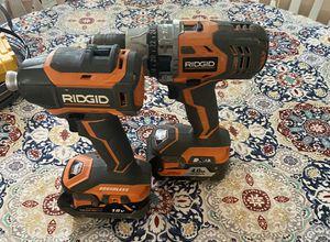 Ridgid used 2 battery 200 $ for Sale in Danbury, CT