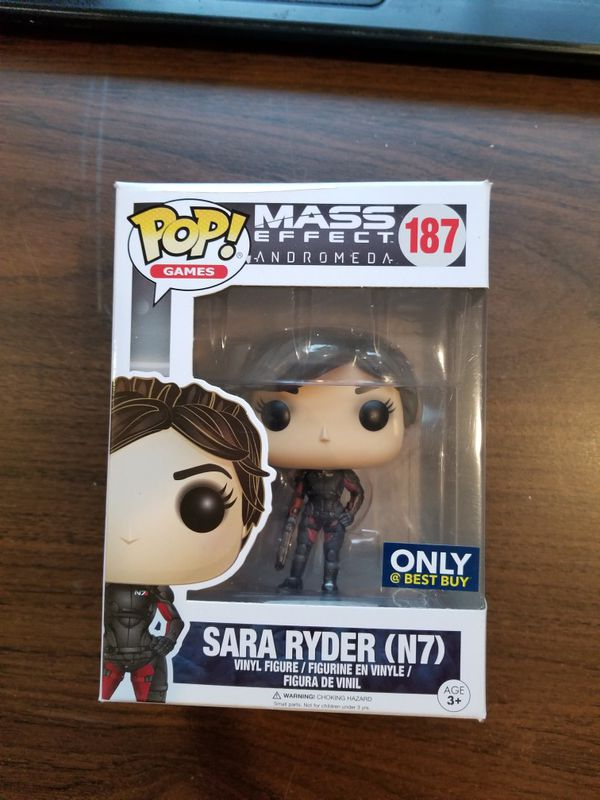 Sara Ryder #187 POP Vinyl Figure (N7) Funko