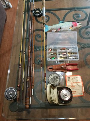 Vintage Freshwater Fishing (LOT) for Sale in Valley Stream, NY