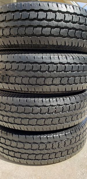 205/75/15 TIRES 99% TREAD for Sale in Tampa, FL