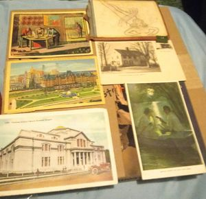 Lot of Antique and Vintage art and postcards for Sale in Albuquerque, NM