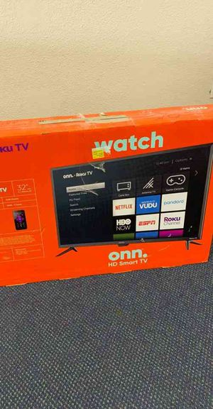 Onn Smart Tv 32 inches!! All new with warranty! Open Box TV! ROKU control! OK for Sale in Beverly Hills, CA