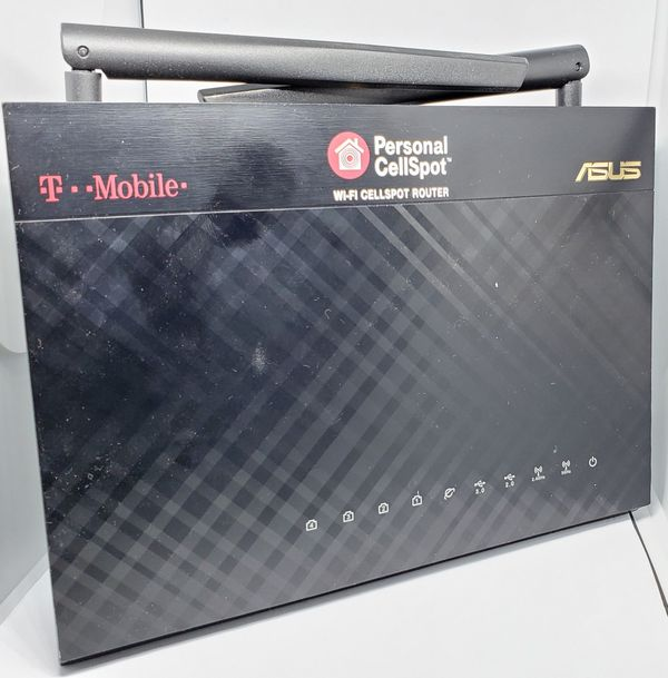 Asus router with two antennae