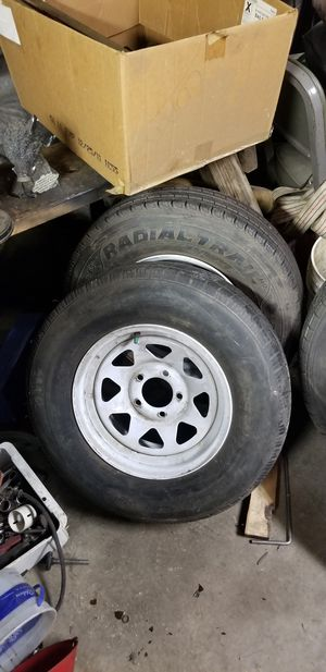 14in Trailer wheels for Sale in Des Moines, IA