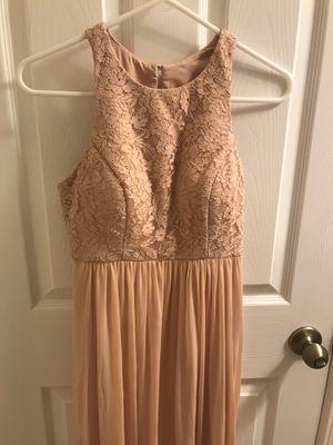 Blush colored bridesmaid dress for Sale in Vallejo, CA