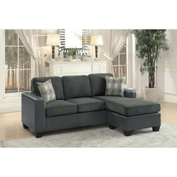 🎵Slater Gray Reversible Sofa Chaise🎵⏰39 DOWN⏰ for Sale in Houston,  TX