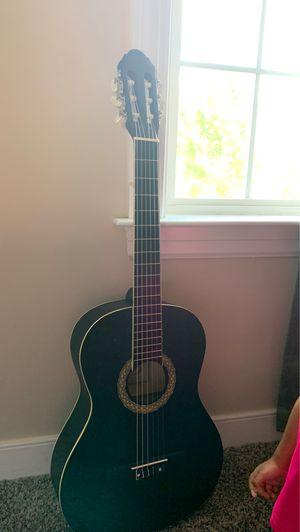 Acoustic black guitar for Sale in Mechanicsville, VA
