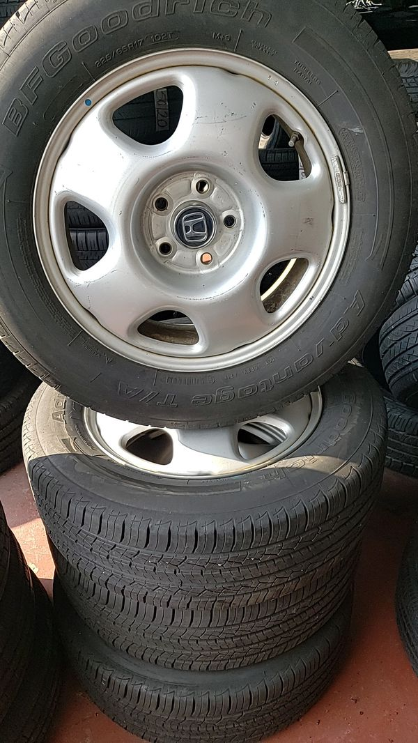 4 set of tires and rims