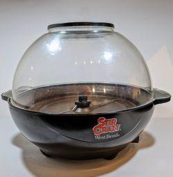 Vintage West Bend Stir Crazy 82306 6 Qt Electric Popcorn Corn Popper TESTED for Sale in Lewisville,  TX