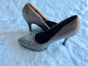 Anne Michelle Sequin High Heels shoes size 38.5 (8.5) for Sale in Washington, DC