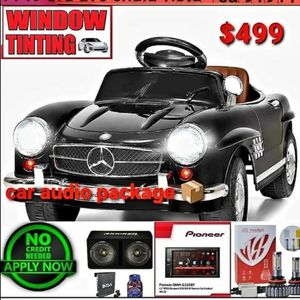 Car Audio Package Deal for Sale in Chula Vista, CA