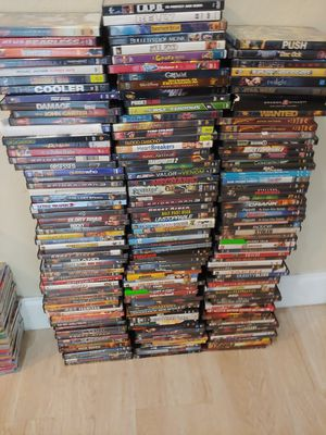 Lot of around 180 dvds for Sale in Pompano Beach, FL