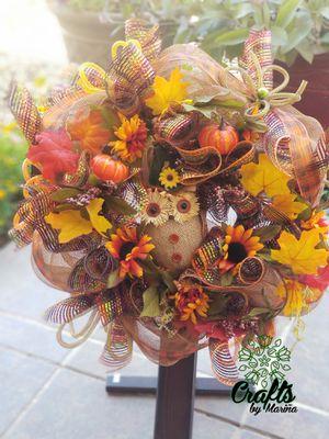 Marina's Crafts Holiday Wreaths & Door Swags for Sale in El Paso, TX