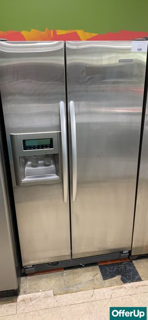 🚀🚀🚀Side by Side Refrigerator Fridge KitchenAid Delivery Available #775🚀🚀🚀 for Sale in Orlando, FL