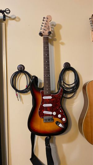 Fender Squire Stratocaster Strater Pack for Sale in Clayton, NC