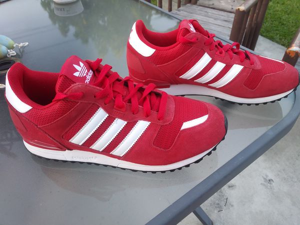 7715965d29f6c SHOES ADIDAS ZX 700 Mens Trainers size 10 S76177 red shoes kicks ...