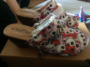 Pink e toe nightmare before Christmas jack skull for Sale in Fort Worth, TX