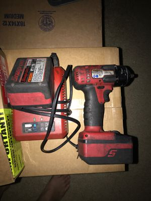 Snap on 3/8 drive cordless 18v for Sale in Laguna Beach, CA