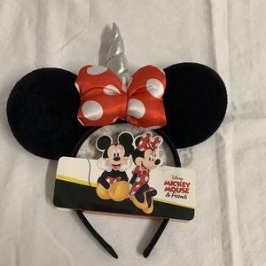 Girl's Disney MINNIE MOUSE Unicorn Ears - NWT for Sale in Hialeah, FL