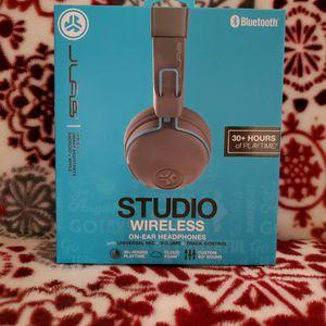 JLab Audio - Studio Wireless On-Ear Headphones - GREY for Sale in Philadelphia, PA