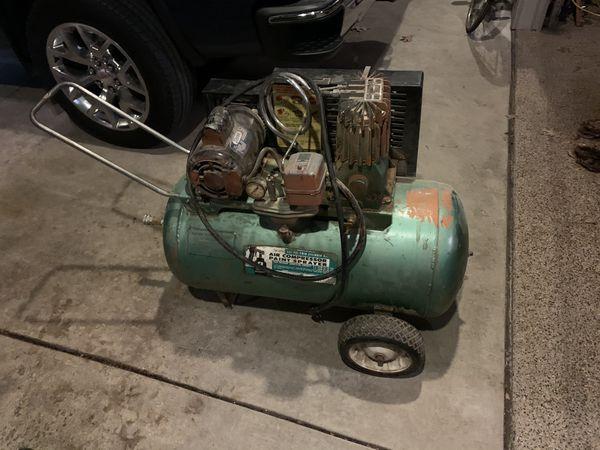 Air Compressor w/ hole in tank