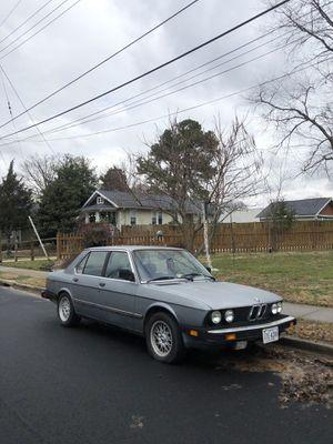BMW e28 528e project m52 swap for Sale in Alexandria, VA