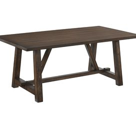 ACME Kaelyn Dining Table, Dark Oak for Sale in Cleveland,  OH