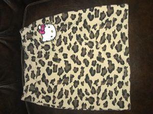 $2! Hello Kitty cheetah skirt size 10 for Sale in Orange, CA