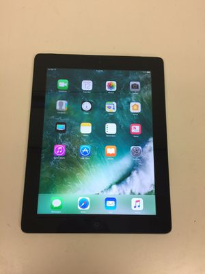 Apple ipad 4 32gb wifi with charger good condition for Sale in Houston, TX
