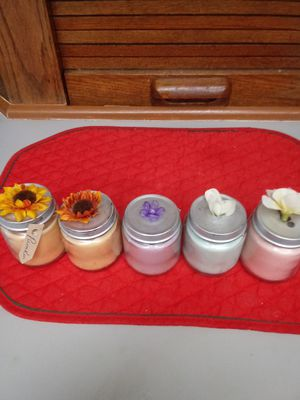 4oz Soy Scented Candles for Sale in Fort Smith, AR