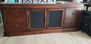 Entertainment center solid Wood for Sale in Stuart, FL