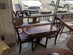 Drop Leaf Table and 2 Chairs for Sale in Fort Myers, FL