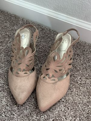 Rose pink heels for Sale in Dinuba, CA